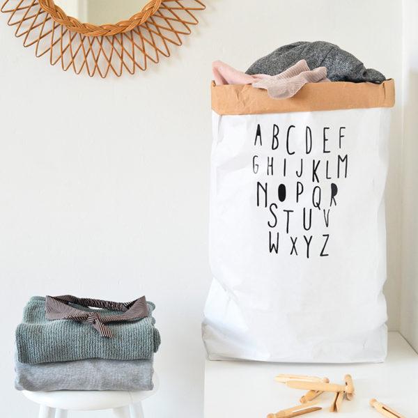 sac de rangement en papier