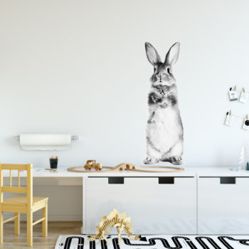 stickers lapin