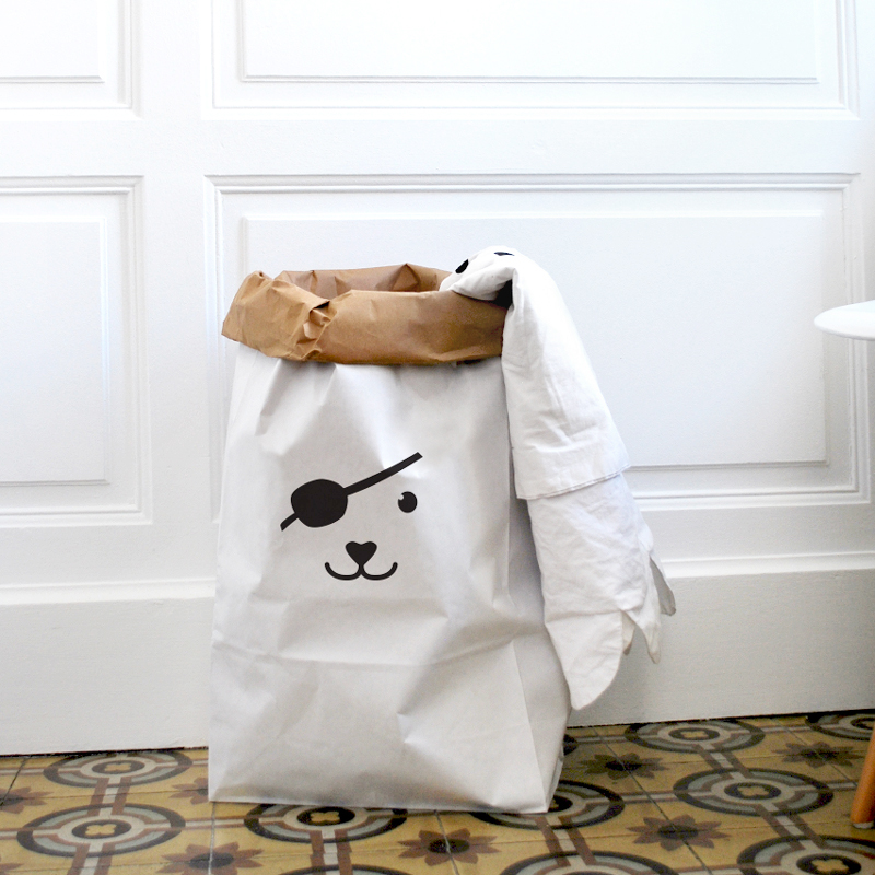 sac en papier rangement